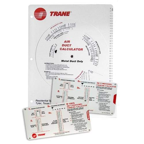 Trane Calculator Kit - (1) Trane Ductulator for