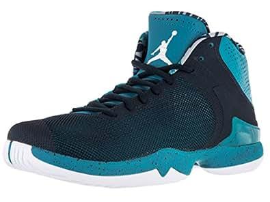 Nike Jordan Men's Jordan Super.Fly 4 PO Tdl Blue/White/Cllg Navy/Infrared 2 Basketball Shoe 11.5 Men US