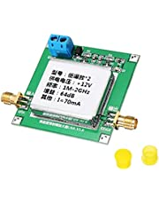 DC12V RF Broadband Amplifier Receiver,Different Gain Values are Required,64dB: 0.1-2GHz gain 64dB