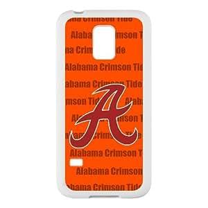 Generic Custom Personalized Design NCAA University of Alabama Crimson Tide Team Logo Plastic and TPU Case Cover for SamsungGalaxyS5 mini(Laser Technology)