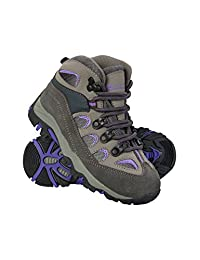 Mountain Warehouse Oscar Kids Walking Boots – Childrens Running Shoes