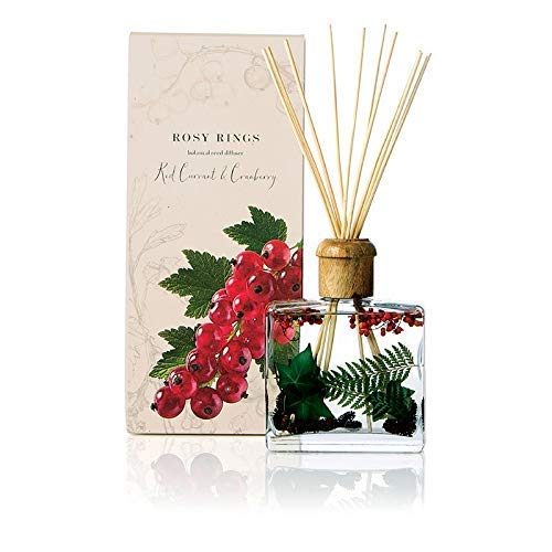 Rosy Rings Botanical Reed Diffuser - Red Currant & Cranberry