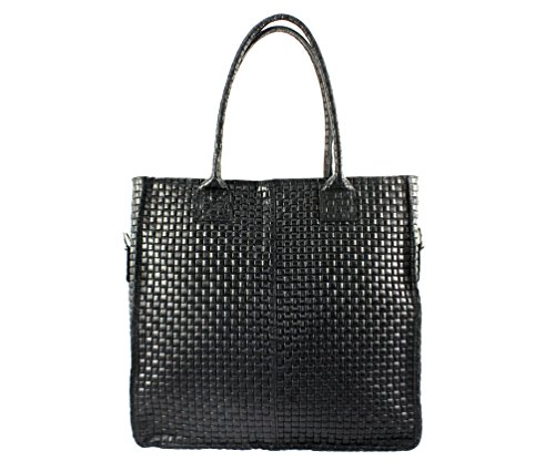 Cuir Cabas Femme Sac Noir Femme sac Tressy sac Chloly Italie cuir Cabas A sac Cabas sac Cuir Plusieurs Sac Coloris sac sac qvPcAE