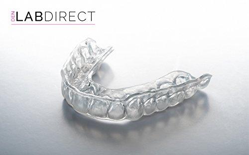 Aufbißschiene / Zähneknirschen Schiene - Maßgefertigt (moderate Zähneknirschen) (oberen Zähne)