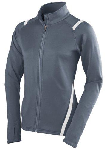 Augusta Sportswear 4810 Women's' Freedom Jacket Graphite/White XL