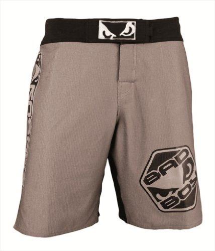 Bad Boy Legacy MMA Fight Shorts - Charcoal (36(XL))
