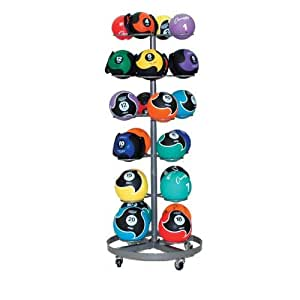 Champion Sports 24 Medicine Ball Rack