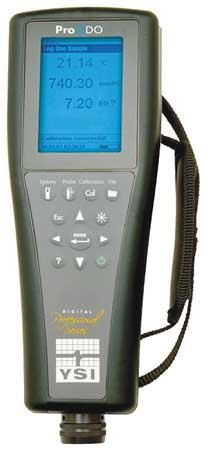 Optical Dissolved Oxygen Meter, 0to50mg/L