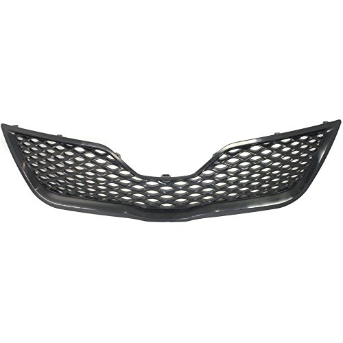 Grille Compatible with Toyota Camry 10-11 Painted-Black SE Model (Toyota 2011 Grill Camry)