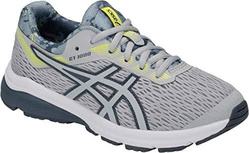(ASICS GT-1000 7 GS SP Kid's Running Shoe, Mid Grey/Mid Grey, 3.5 M US Big)