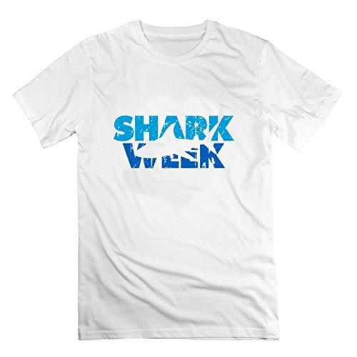 Shark_week_01 Shirt Men Shirt - Cotton T-shirt