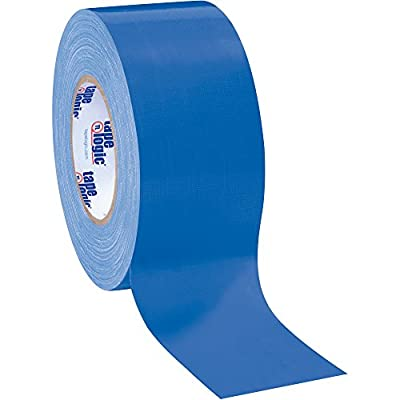 "Boxes Fast Tape Logic Duct Tape, 10 Mil, 3"" x 60 yds, Blue from Boxes Fast"