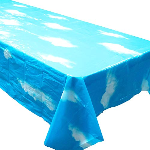 Toy Story Tablecloth (Blue Orchards Sky Tablecovers (2), Sky Party Decorations, Sky and Clouds)