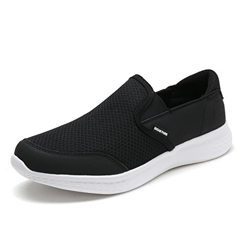 - DREAM PAIRS Men's Slip on Walking Shoes Mesh Athletic Sneakers 150908 New Black White Size 9 M US