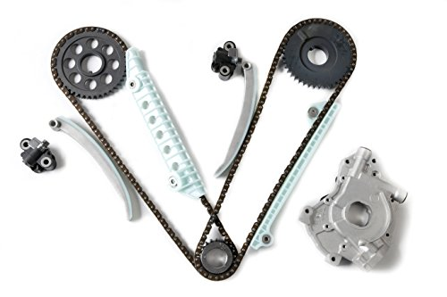 MOCA Timing Chain Kit & Oil Pump Kit for 1997-2010 Ford E-150 Econoline & Ford Mustang & Lincoln Town Car & Mercury 4.6L V8 16V Windsor - W X
