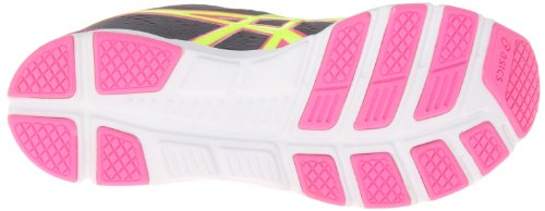 Asics Womens Gel-Storm 2 Running Shoe,Storm/Flash Yellow/Pink,11 M US