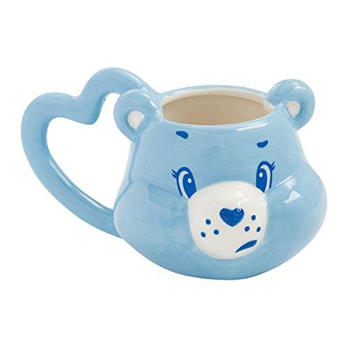 Care Bears Mug - Vandor 29101 Care Grumpy Bear Sculpted Ceramic Mug