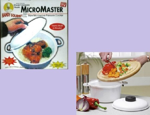 Apta para microondas Micromaster 2, 85L olla a presión + recetas ...
