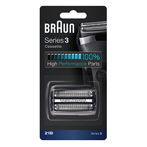 Braun 21B Shaver Replacement Part, Black, Compatible with Models 300s and 310s ()