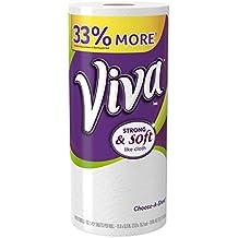 VIVA Choose-A-Sheet Paper Towels, White, Big Roll, 1 Roll