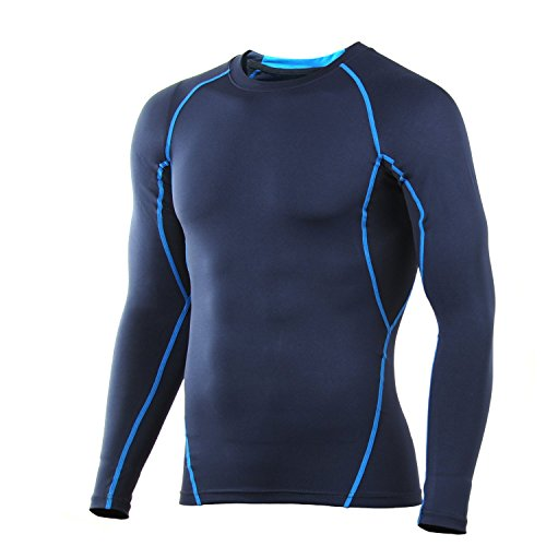 4ucycling Compression Tight Shirt Base Layer Br...