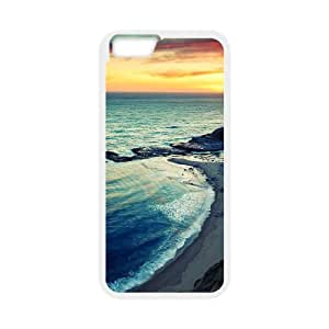 Good Quality Phone Case With HD Seascape Images On The Back , Perfectly Fit To iPhone 6,6S