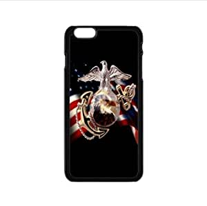 cool United States Marine Corps-USMC design Custom Case Case Cover For Apple Iphone 5C inch PC case cellphone cover black