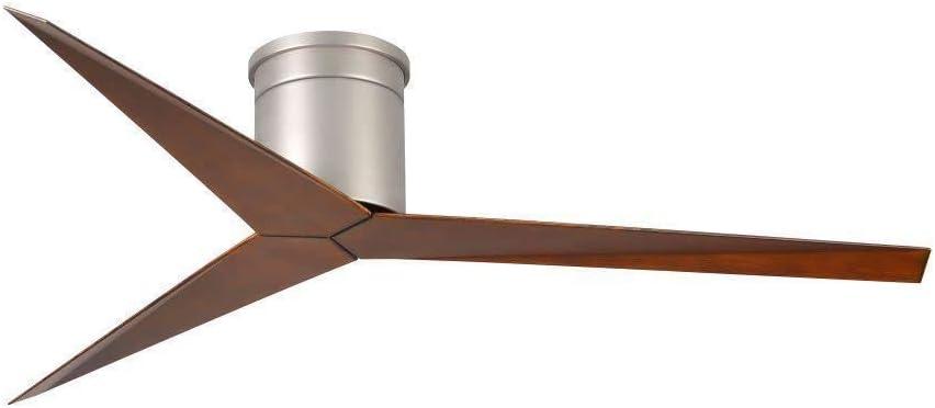 3-Blade Paddle Flush Mount Ceiling Fan