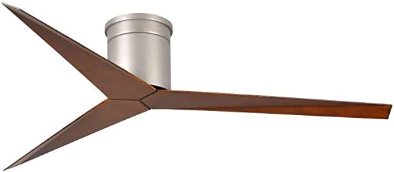 3-Blade Paddle Flush Mount Ceiling Fan