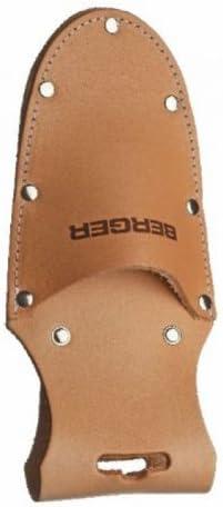 Berger Lederk/öcher f/ür Handscheren 5100 mit G/ürtelschlaufe und Metallclip
