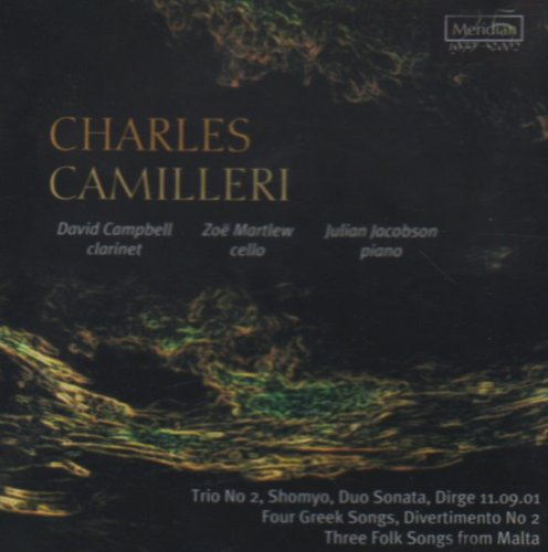 Price comparison product image Camilleri Charles (1931-2009): 'Four Greek Songs' 'Dirge 11.09.01' 'Divertimento No.2' And 'Th