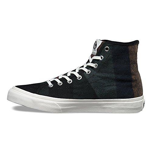 Vans Herren Sneaker Sk8-Hi Decon SPT Sneakers (wool stripes) multi/blanc de blanc