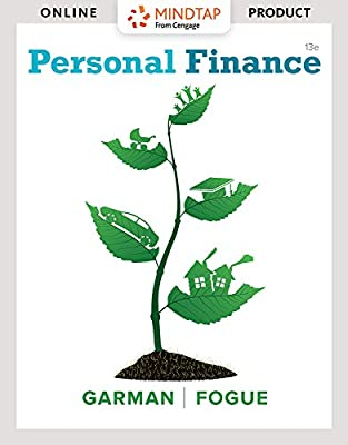 MindTap Finance for Garman/Forgue's Personal Finance, 13th Edition