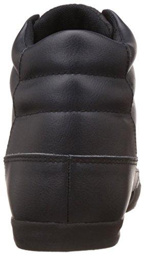 DIESEL - Herren- Hohe schwarze Leder-Sneaker Klubb für herren