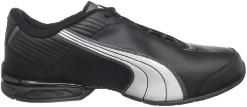 Zapato de running Super Elevate para hombre, Black / White / Dark Shadow, 9.5 D US