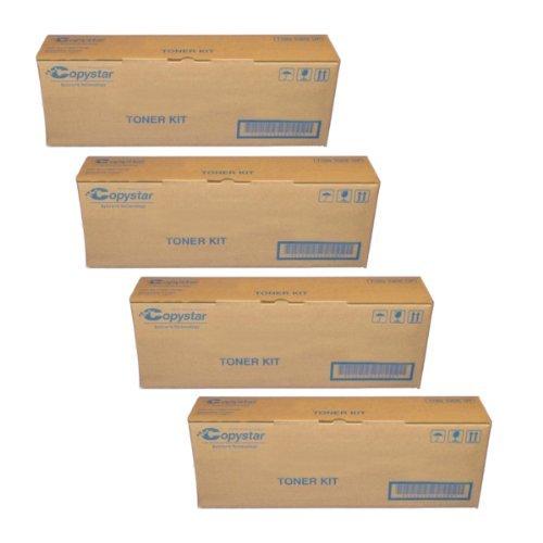 Copystar Original Copier Drum (CopyStar Part# TK-899C. TK-899K. TK-899M. TK-899Y Toner Cartridge Set (Black. Cyan. Magenta and Yellow) by)