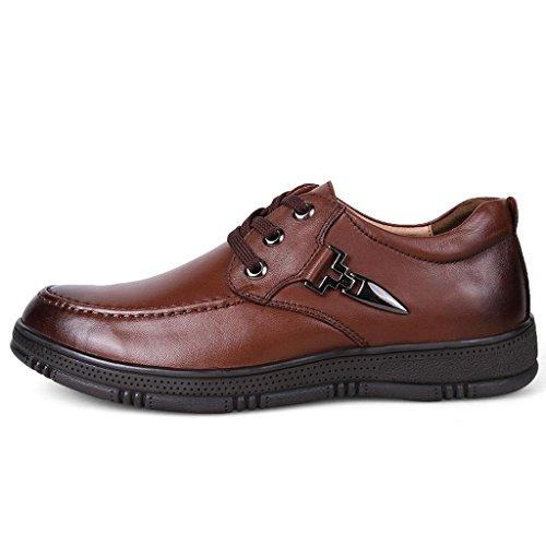 Cuero Aire Brown M Trabajo Libre Para Grandes amp;m Al De Hombre Zapatos wqqt8SR
