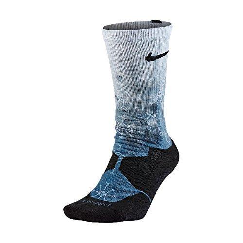 Nike Seasonal Knit Hyper Elite Basketball Crew Sock (Large)