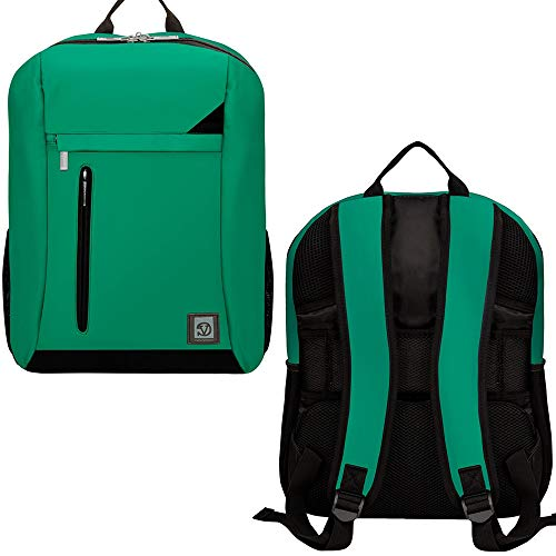 Large Laptop Backpack Bookbag Knapsack Fit Laptop Upto 17.3 Inch, Compatible MSI, Asus, Acer, Green