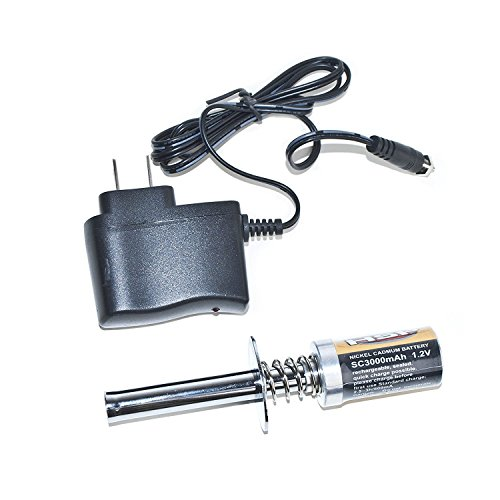 Wholesale ALEKO RCP-KIT3 Nitro RC Starter, Glo Starter With 3000 mAh Battery and Charger