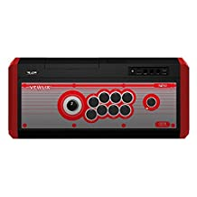 HORI Real Arcade Pro.4 Premium VLX (Red) Arcade Fighting Stick for PlayStation 4 and PlayStation 3 Officially Licensed by SCEA and Taito