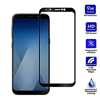 official photos 5fabf 93dc3 LOFAD CASE Tempered Glass for Samsung Galaxy J6 (Transparent)