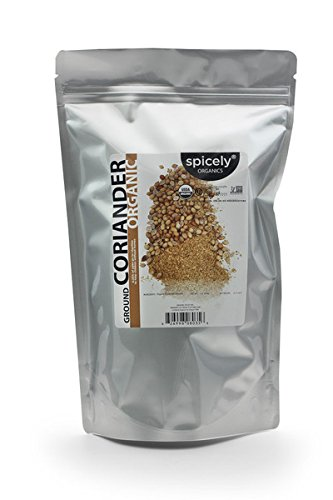Spicely Organic Spices - Spicely Organic Coriander Ground 1 Lb Bag Certified Gluten Free