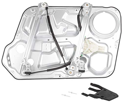 AUTOPA 82471-3K001 Front Left Driver Side Power Window Regulator with Panel Assembly for Hyundai Sonata 2006-2008