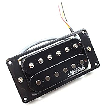 Wilkinson Mwhbn Electric Guitar Neck Pickup Humbucker Black High Output