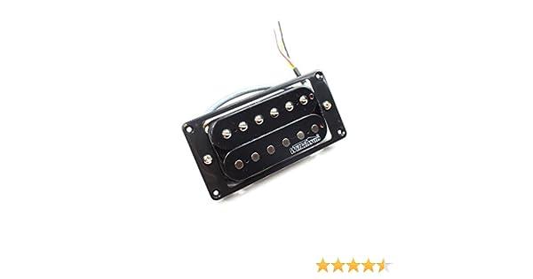 Amazon.com: Wilkinson MWHBN Electric Guitar Neck Pickup Humbucker - Black - High Output: Musical Instruments
