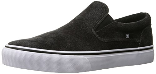 DC ShoesTrase Slip-On TX Le - Stringata Classica Uomo Washed Out Black