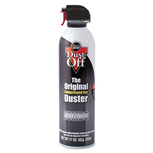 Falcon Dust-Off DPSJMB Jumbo Disposable Duster - Ozone-Safe, Moisture-Free - Gray