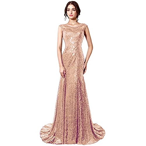 Formal Dresses Gold Rose: Amazon.com