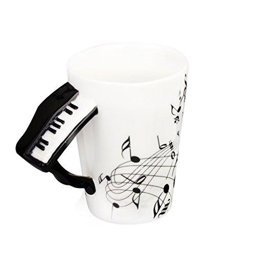 MagiDeal Music Shaped Handle Porcelain